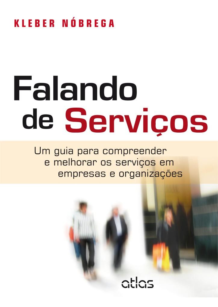 Capa do livro FALANDO DE SERVIÇOS
