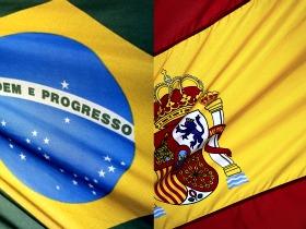 Imagens de Brasil e Espanha