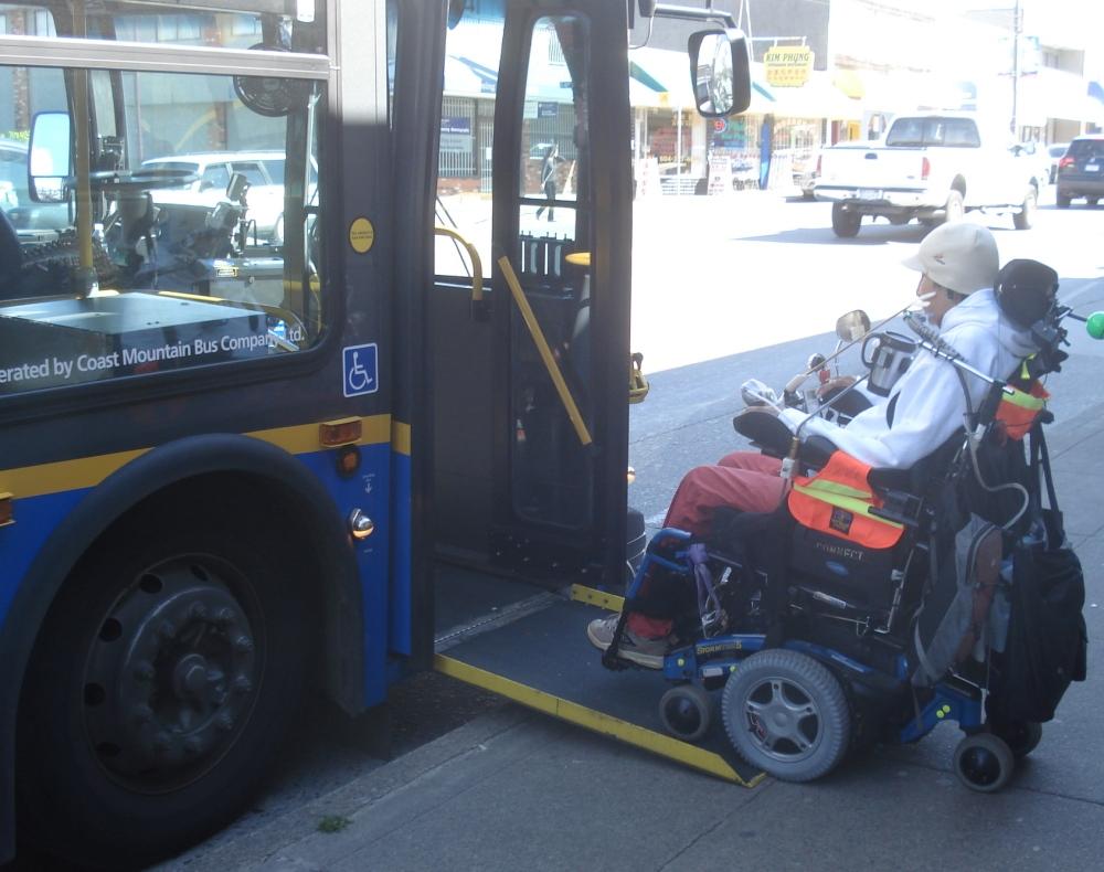 Ônibus em Vancouver, Canadá
