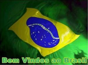 Bem vindos ao Brasil!!!