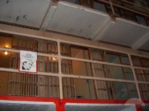 Um dos pontos de maior curiosidade – a cela de Al Capone