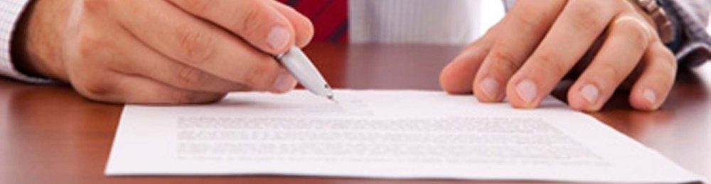 Um contrato de serviços mostra o perfil da empresa